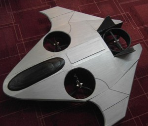 AirShip Technologies has several prototypes for unmanned aerial vehicles, or drones, that the company hopes to begin manufacturing in Oregon