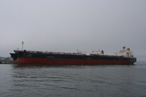 A docked oil tanker. The Oil Pollution Act of 1990 gave ship owners 25 years to phase out their single-hull tankers. That deadline arrives on Jan. 1, 2015.
