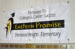 Eastern Promise offers college credits in rural high schools in eastern Oregon. It also has curriculum starting in elementary schools, like Sherwood Heights, in Pendleton.