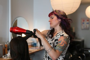 Portland hair dresser, Mardi Palan, is hoping to carry twins for a gay couple from Israel.