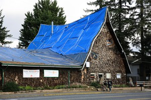 Human Solutions recently spent $13,000 on tarping in an effort to deal with roof leaks. Multnomah County has removed all families from the shelter due to safety concerns.