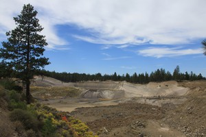 One of the properties OSU hopes to aquire is currently being used as a pumice mine.