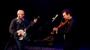 Tony Furtado with Luke Price at OPB