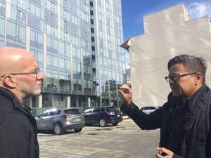 State of Wonder columnist-in-residence Randy Gragg talks with architect Eugene Sandoval, principal, ZGF Architects, about Indigo @ twelve | west.