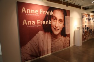 """Anne Frank: A History for Today"" filled the Oregon Jewish Museum with record crowds in January 2015."