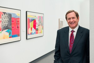 Jordan Schnitzer, developer and philanthropist, has given widely to arts institutions and educational causes.