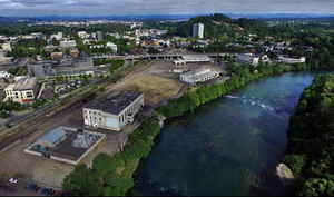 An ambitious project more than a decade in the making calls for reshaping a section of Eugene's downtown Willamette riverfront.