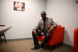 Djimet Dogo, associate director of the Immigrant and Refugee Community Organization.