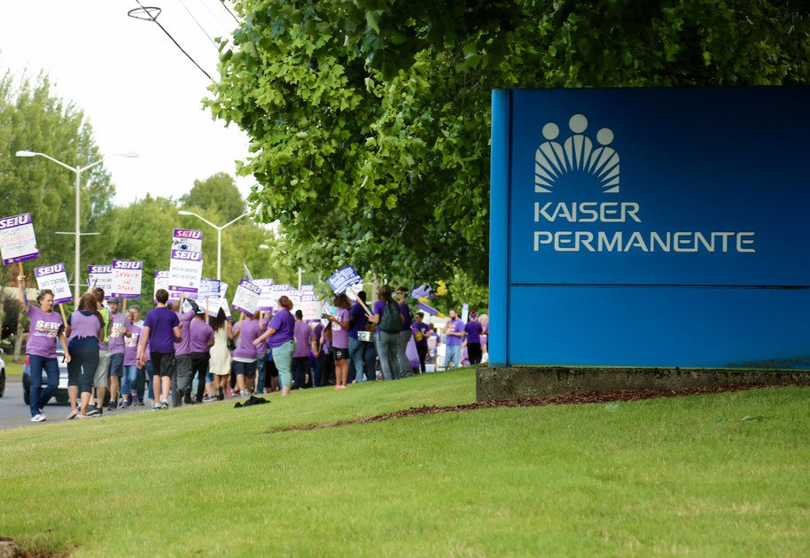 Biggest Strike In Years Poised To Hit Kaiser Permanente
