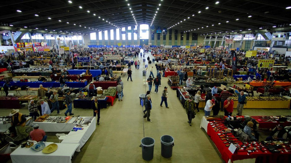 About 40,000 people attend Wanenmacher's Tulsa Arms Show, which is held twice-annually in Tulsa, Oklahoma.