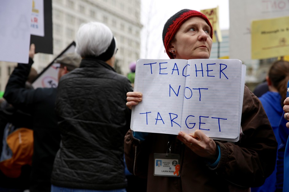 Laura Ross has been a teacher for 27 years. She teaches Spanish in the Portland Public Schools district.