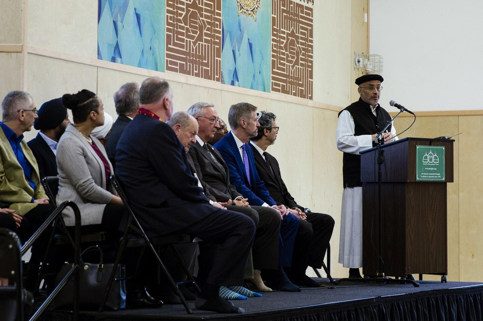 Muslim Educational Trust president and co-founder Wajdi Said speaks at the Muslim Educational Trust in Tigard, Ore., March 15, 2019.