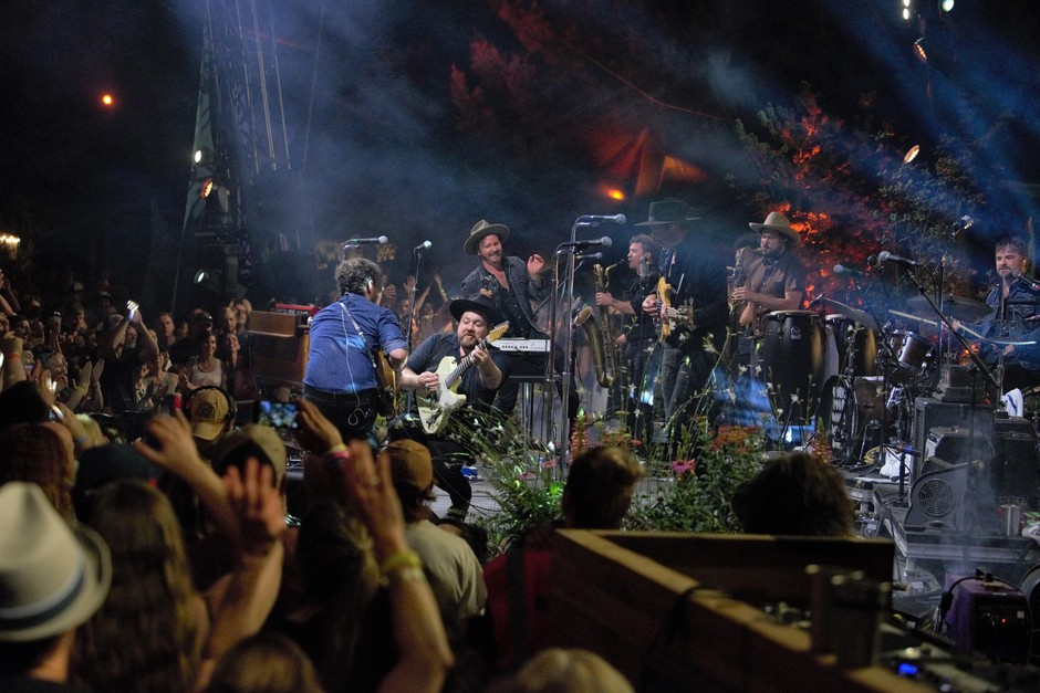 Nathaniel Rateliff & the Night Sweats - on the Mt. Hood Stage at Pickathon, 2019