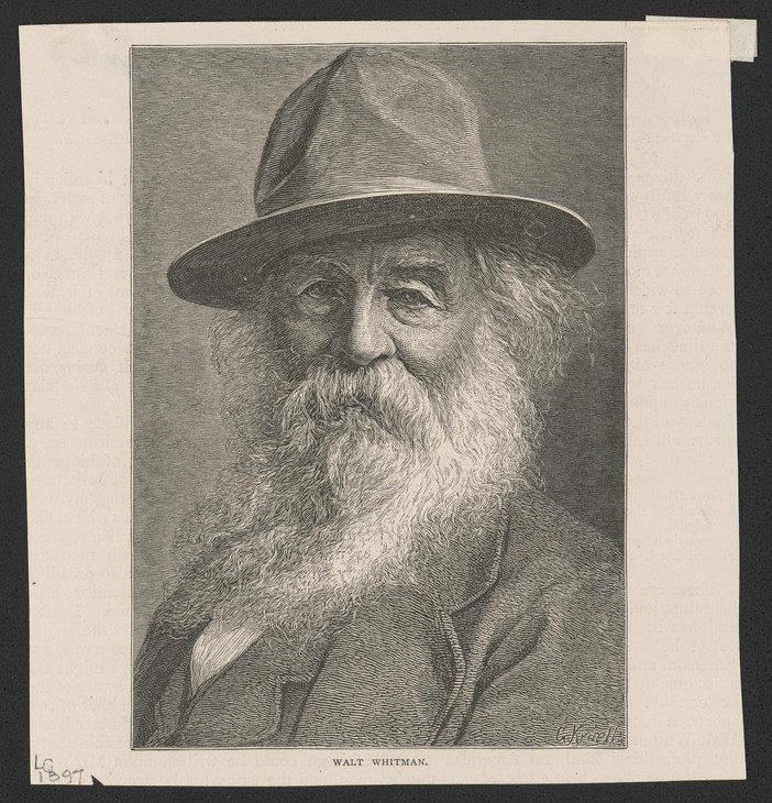 2019 is the 200th anniversary of poet Walt Whitman's death.