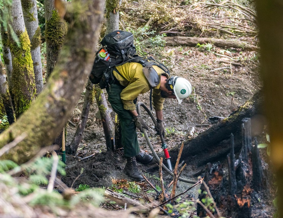 Through July 4, total suppression costs for the Lobster Creek Fire are just over $956,000.