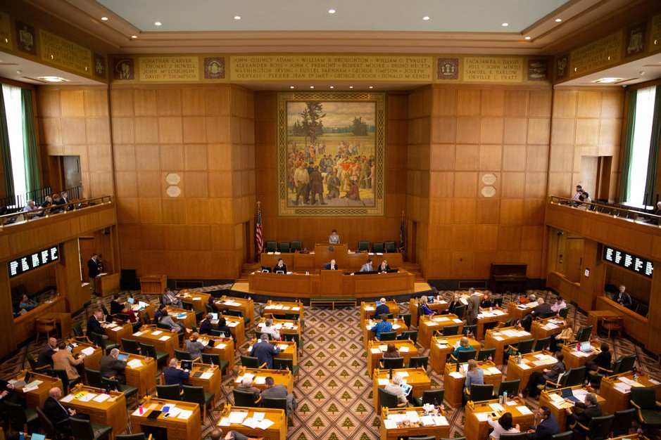 The Oregon House meets for session on April 11, 2019.