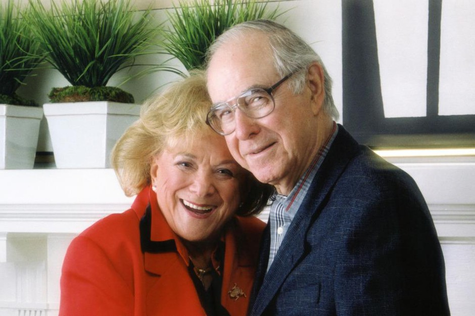 """Arlene with her husband Harold Schnitzer. The couple's active involvement in Portland civic life led to some calling them Portland's """"first couple."""""""