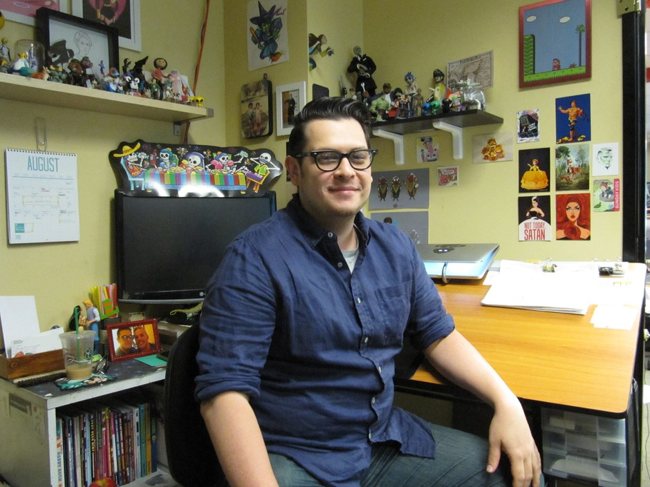 "Portland comics artist Terry Blas publishes a mini-comic called ""You Say Latino,"" that takes on racial, national and linguistic identity with an artistic flare."