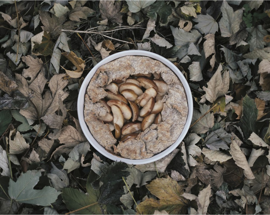 """Russet/Rye Apple Pie, a recipe from""""The Myrtlewood Cookbook, Pacific Northwest Home Cooking""""by Portlander AndrewBarton, is ripe for culinary adventure— you can even substitute Bosc pears."""