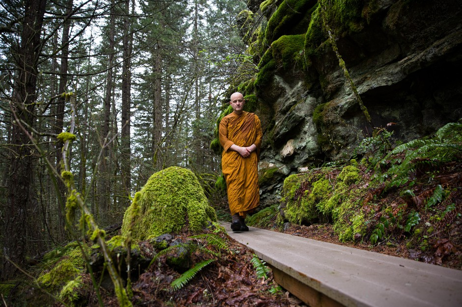In White Salmon, Washington, monks have found a community that values the experience of having them around.