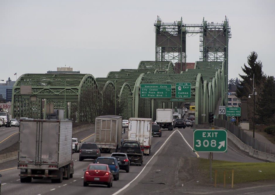 Tolls could be implemented on the I-5 Bridge.