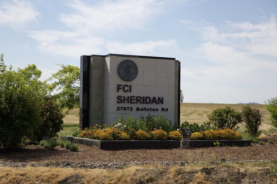 The Federal Correctional Institution in Sheridan.