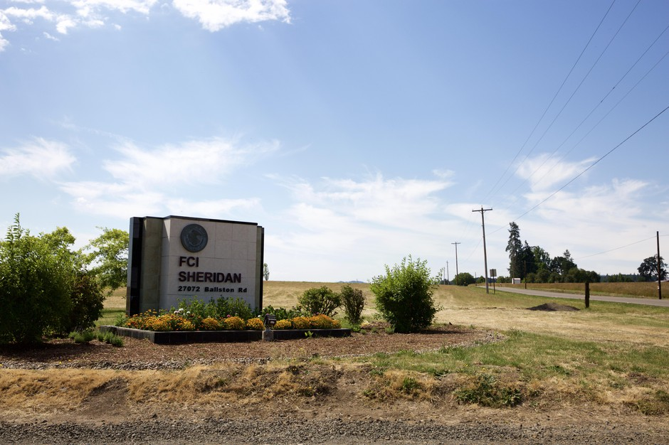 The Federal Correctional Institutional in Sheridan, Oregon.