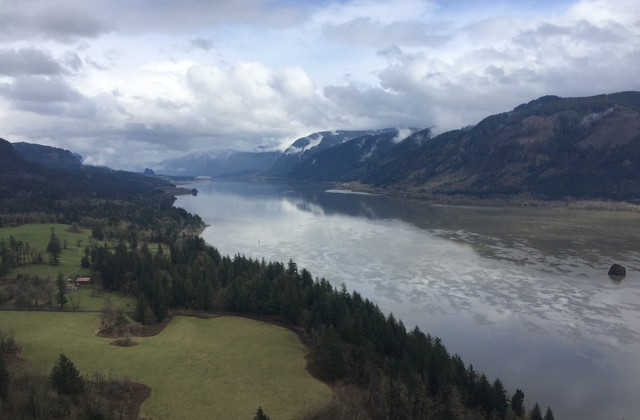 View of the Gorge from Cape Horn.