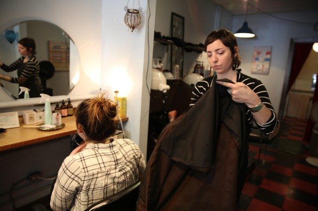 Portland hair dresser, Esther Prentice, is being enrolled in the 'War On Melanoma' registry. She lets her clients know if she sees an unusual spot or rash when cutting their hair.