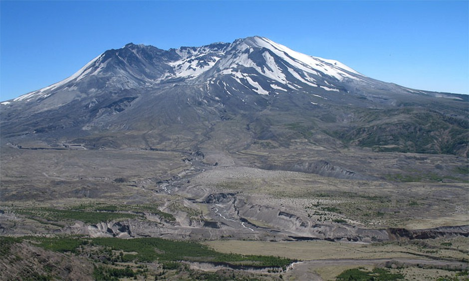 File photo of Mount St. Helens